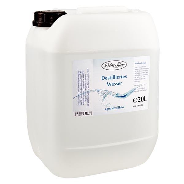 20 Liter destilliertes Wasser / Aqua destillata