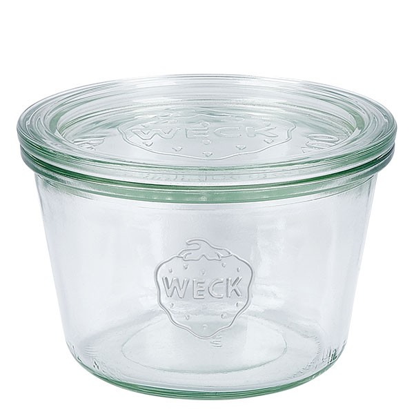 Bocal conique WECK 370 ml (1/4 L) avec couvercle
