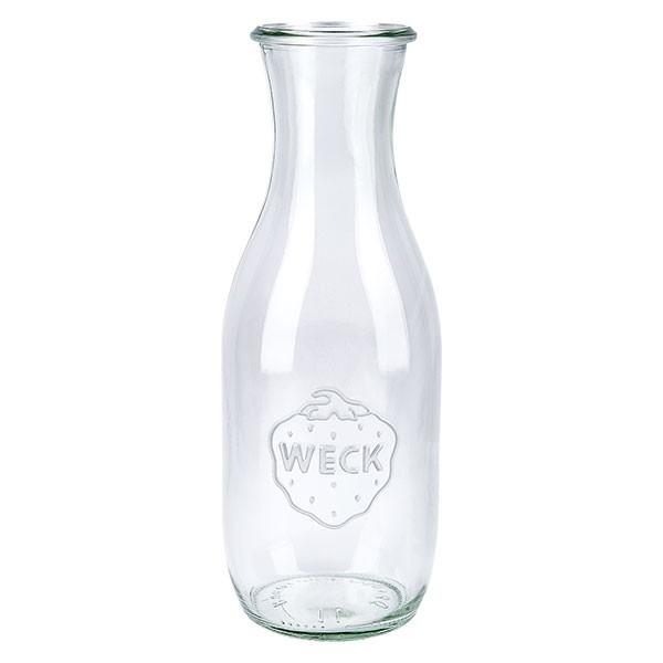 Bouteille à jus de fruits WECK 1062 ml, bouteille seule