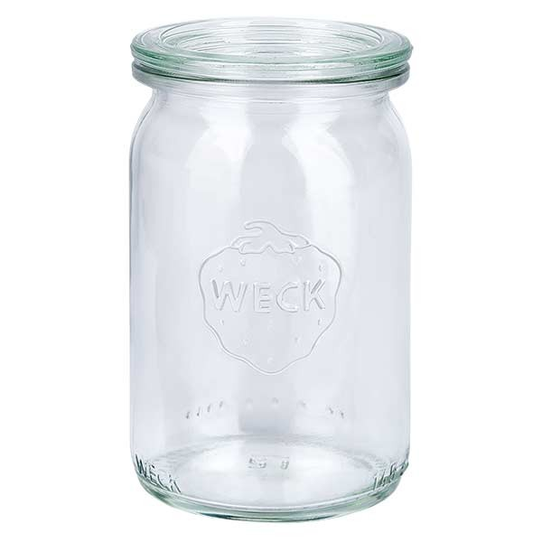 Bocal cylindre WECK 145ml avec couvercle
