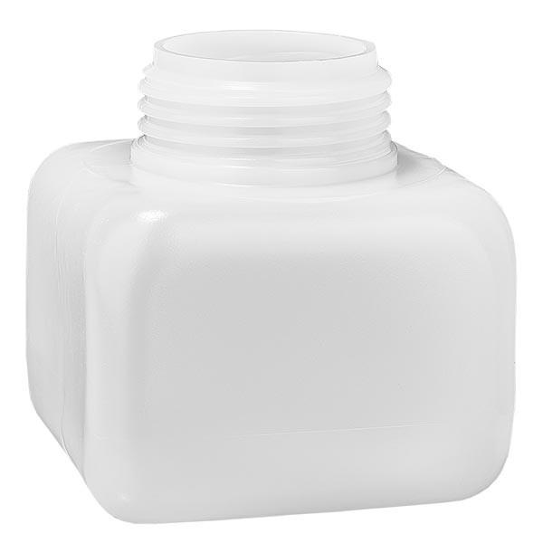 Flacon à produits chimiques 250 ml à col large, PEHD couleur naturelle, GL 50