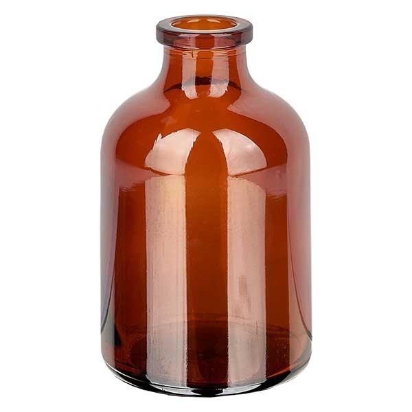 Flacon pour solution injectable, 50 ml en verre ambré