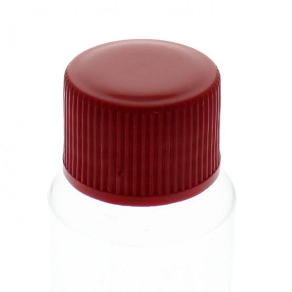 Bouchon à vis rouge avec joint en PE, S20x3