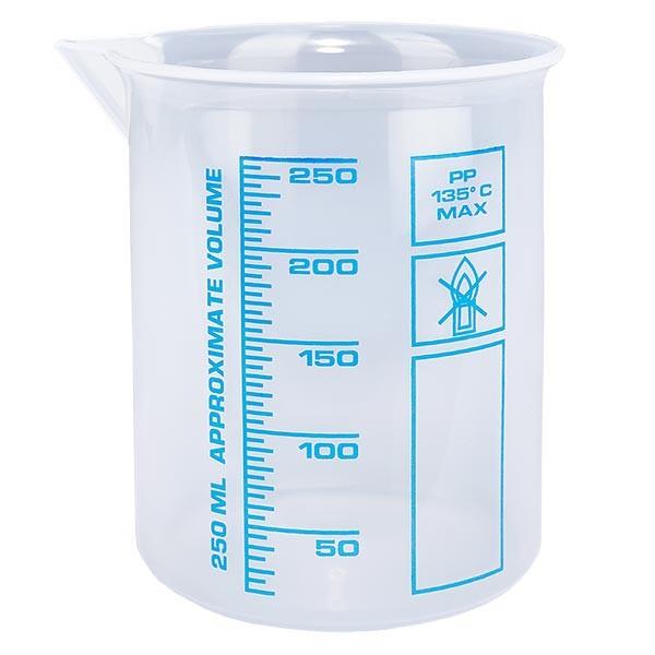 Verre mesureur en PP 250 ml