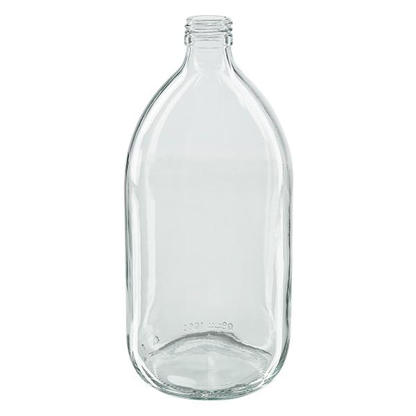 Flacon médical 1000 ml couleur claire PP 28