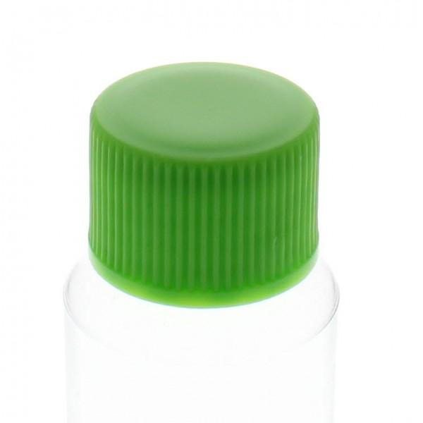 Bouchon à vis vert avec joint en PE, S20x3