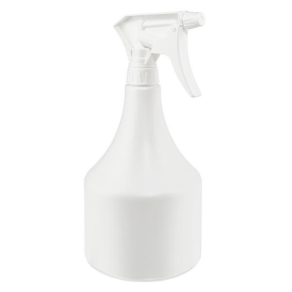 Pulvérisateur de forme conique en PP, 1000 ml + gâchette