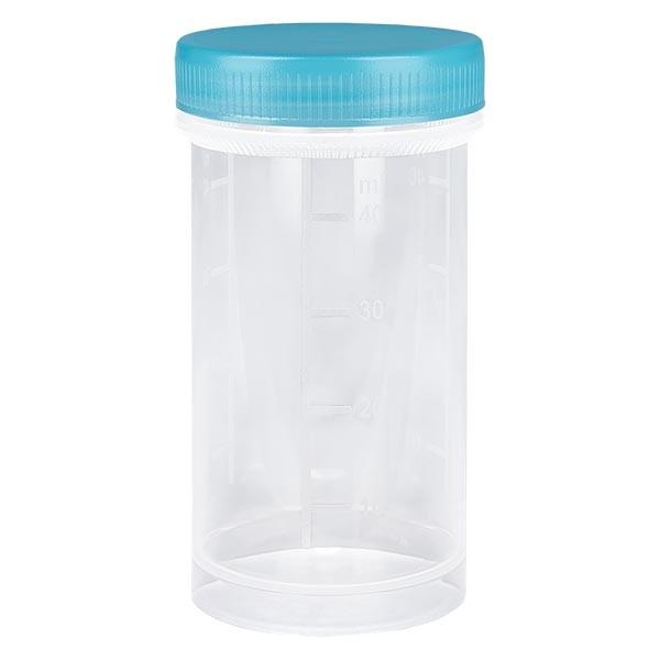 Pot en plastique multiusage de 50 ml