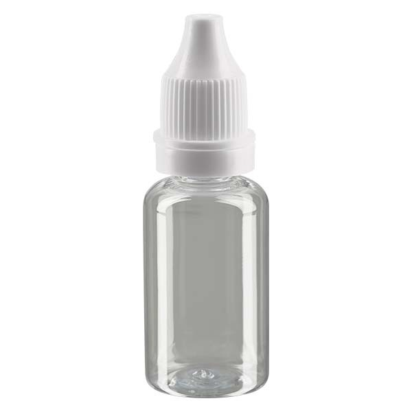 Liquid-Flasche, 15ml, transparent