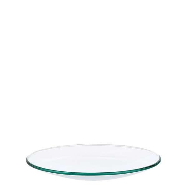 Verre de montre 100 mm - verre borosilicate 3.3 - bord fondu
