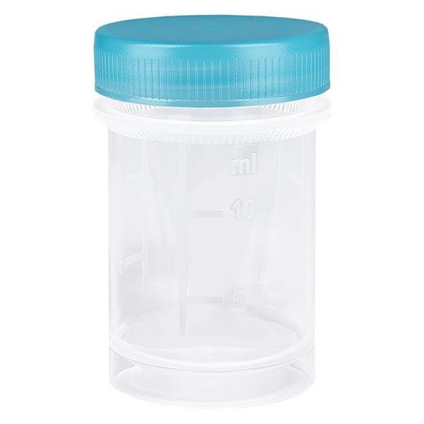 Pot en plastique multiusage de 20 ml