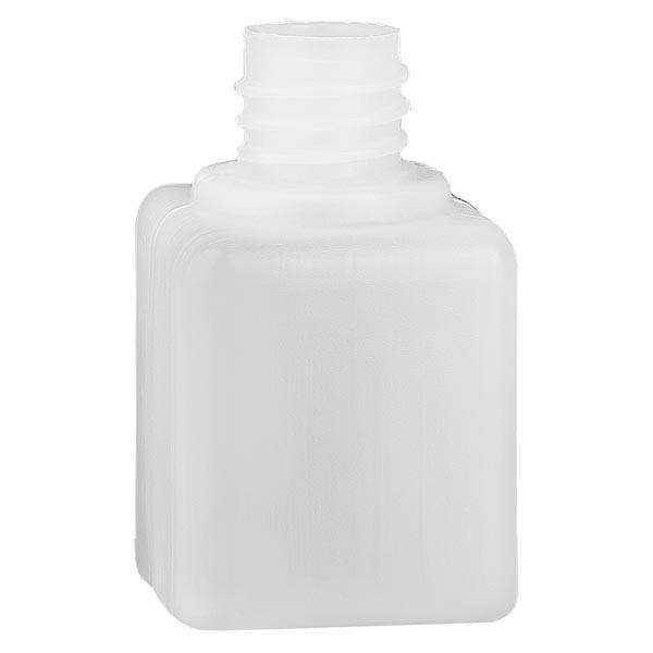 Flacon à produits chimiques 20 ml à col étroit, PEHD couleur naturelle, GL 18