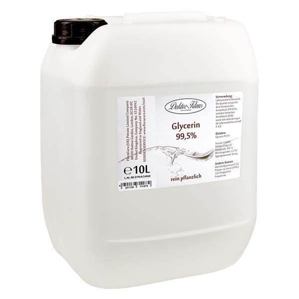 Glycérine 99,5 % Doktor Klaus dans un jerrican PEHD de 10 litres - E 422