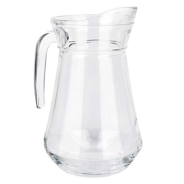 """Carafe """"France"""" 1 litre en verre durci origine française"""