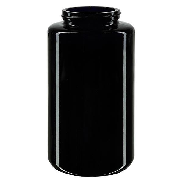 Pot violet 300 ml à large ouverture, filetage GCMI 400/48, sans couvercle