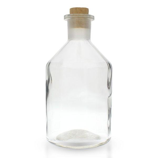 500ml Steilbrustflasche Enghals Klarglas inkl. Korken