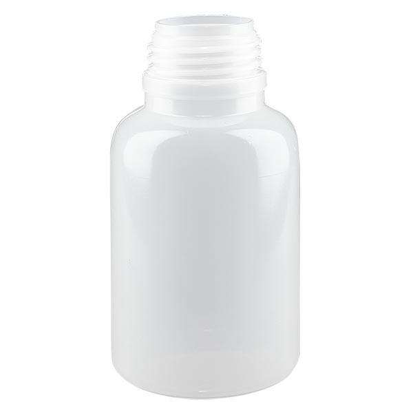 Flacon à col large 250 ml sans bouchon