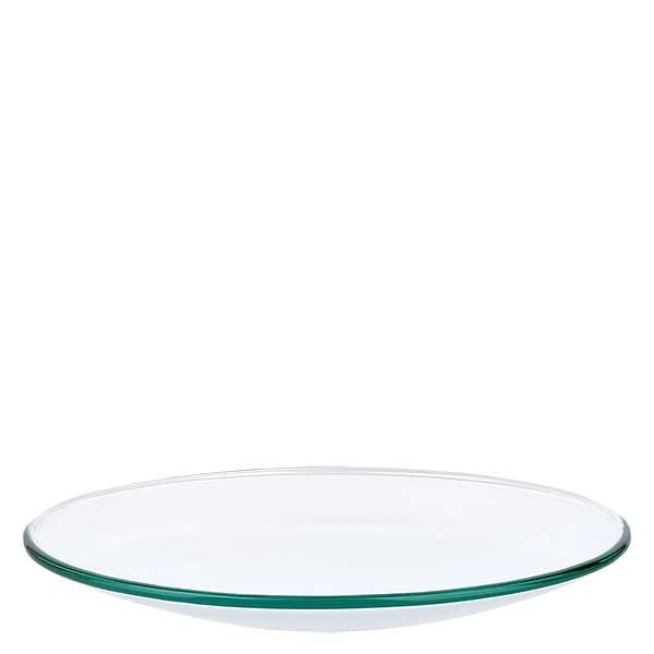 Verre de montre 120 mm - verre borosilicate 3.3 - bord fondu