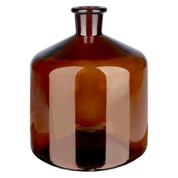 Bouteille de stockage 2000 ml en verre ambré