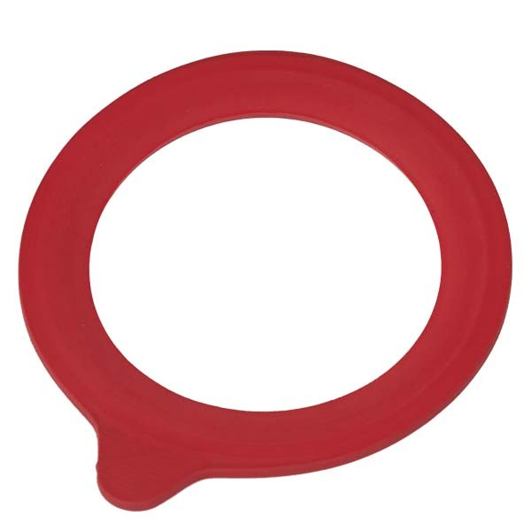 Anneau en caoutchouc rouge (2550) adapté aux pots à armature de 634 et 1140 ml