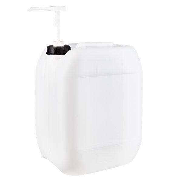 Jerrican de 10 litres avec pompe doseuse