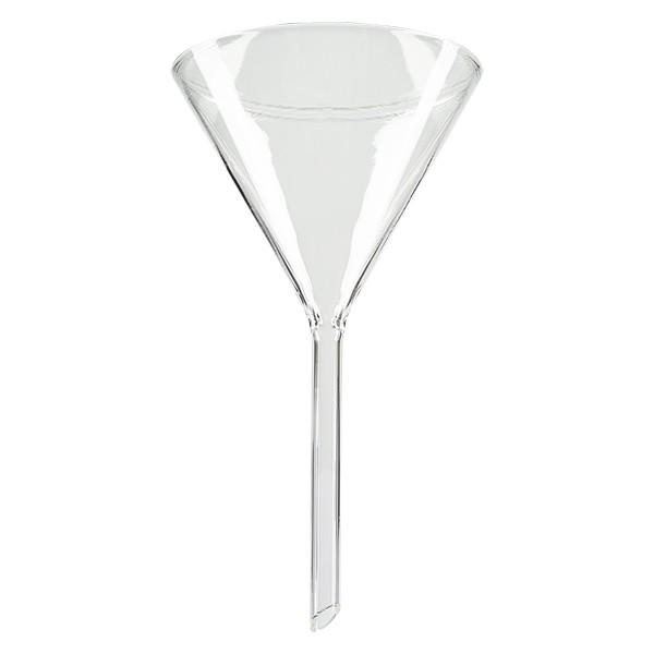 Entonnoir Ø 100mm - verre borosilicate 3.3 - angle 60°