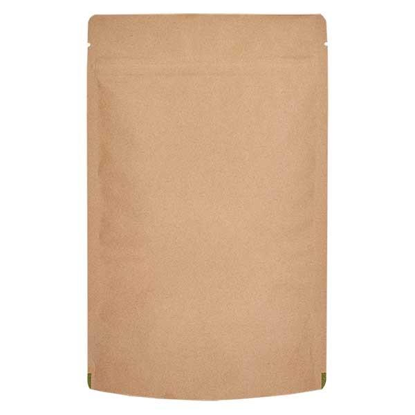 Sachet vertical en papier kraft marron (capacité : environ 100g / 120x200)