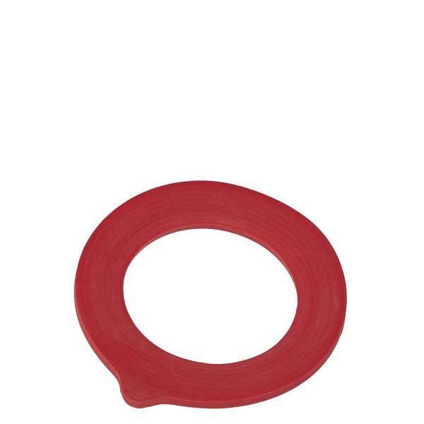 Anneau en caoutchouc rouge (1330) adapté aux pots à armature de 135 & 272 ml