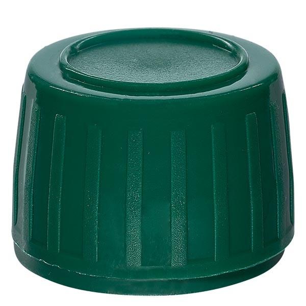 Capsule à vis marron 28mm pour flacons médicaux (standard)