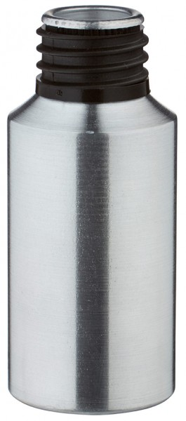 30ml Aluminium-Flasche geschliffen ohne Verschluss