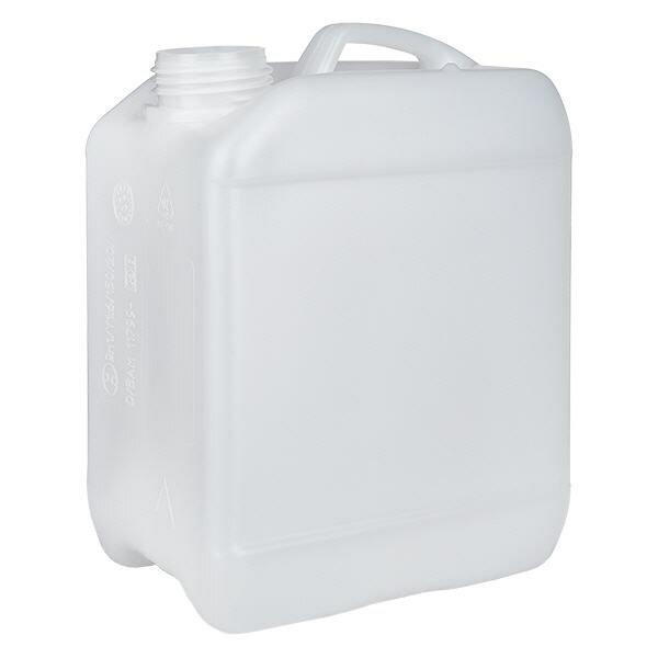 Jerrican de 2,5 litres sans bouchon