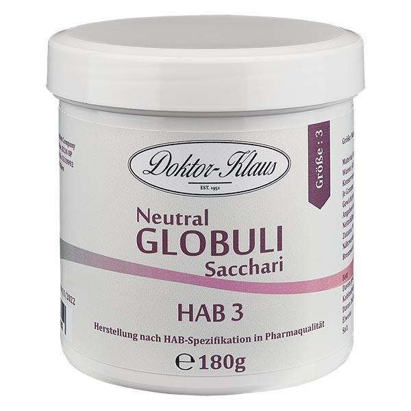 180g globules neutres HAB3, 100 % pure saccharose