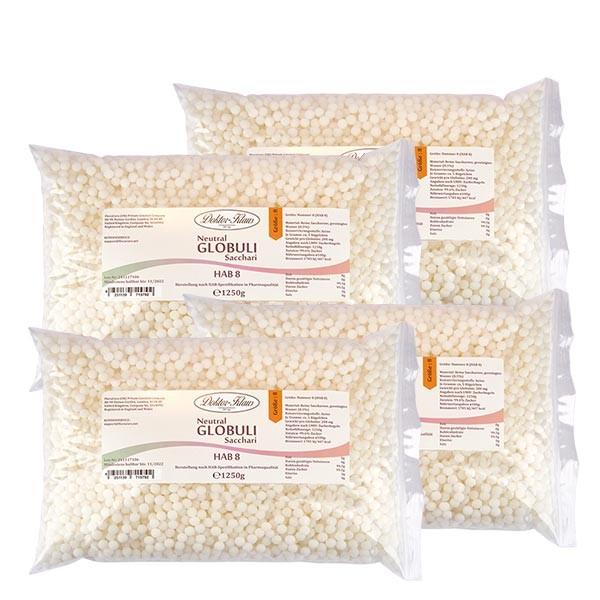5kg globules neutres HAB8, 100 % pure saccharose