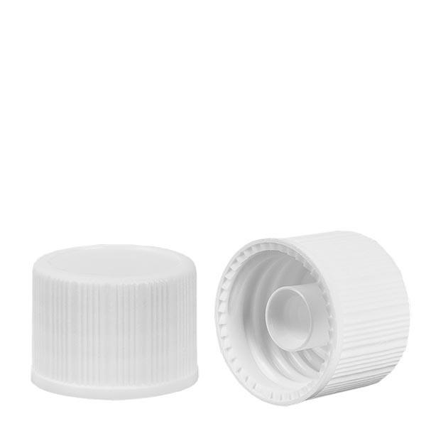Bouchon à vis blanc 18mm standard
