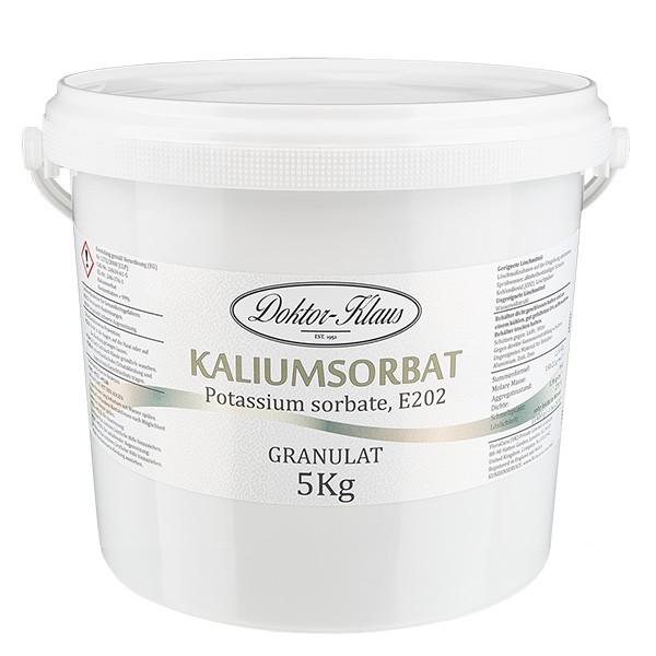 Sorbate de potassium 5kg en seau