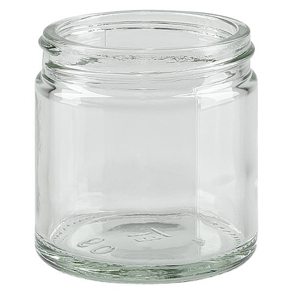 Pot en VERRE CLAIR 60 ml, filetage 51 mm / R3