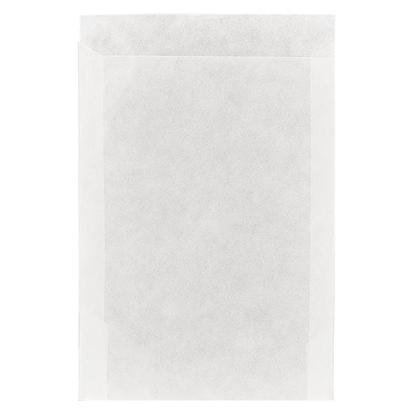 100 sachets en papier cristal (95 x 132 mm), 50 g/m²
