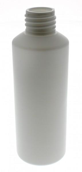 Flacon cylindrique en PET blanc 75 ml, S20x3, sans bouchon