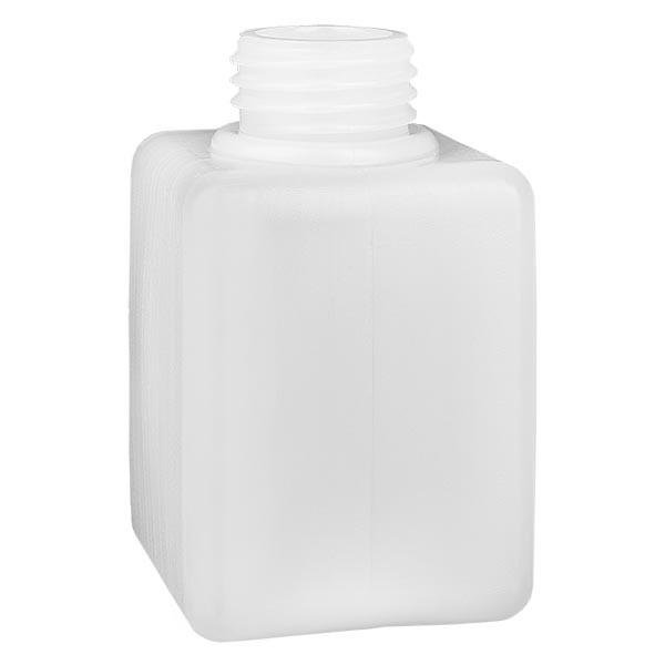 Flacon à produits chimiques 100 ml à col étroit, PEHD couleur naturelle, GL 25