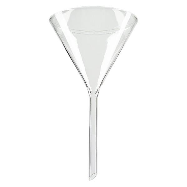 Entonnoir Ø 85mm - verre borosilicate 3.3 - angle 60°