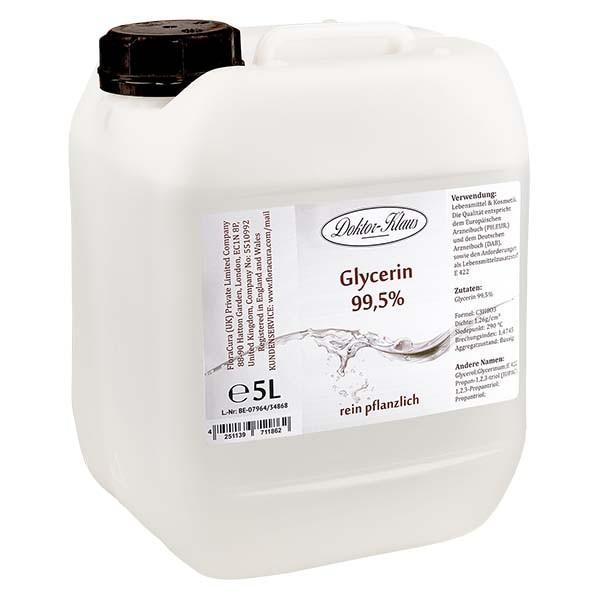 Glycérine 99,5 % Doktor Klaus dans un jerrican PEHD de 5 litres - E 422