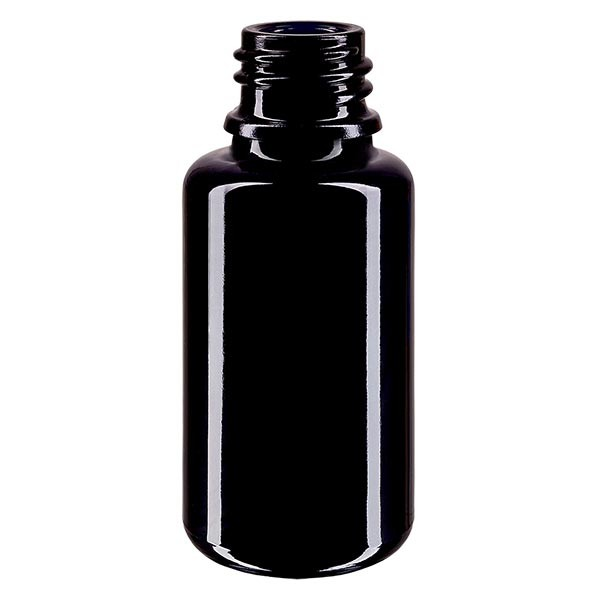 Flacon en verre violet 20 ml DIN18 (verre Miron)