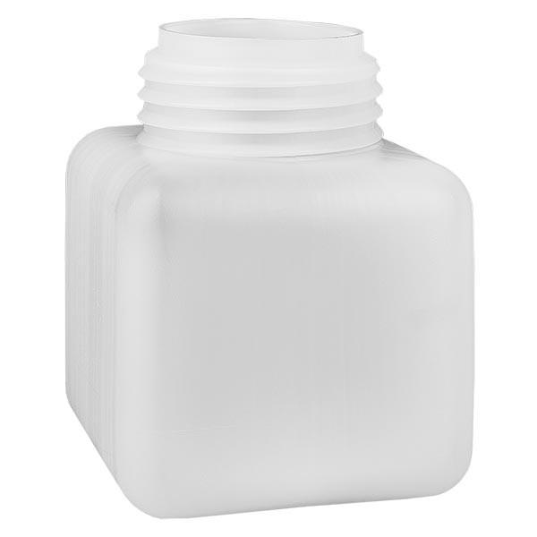 Flacon à produits chimiques 500 ml à col large, PEHD couleur naturelle, GL 65