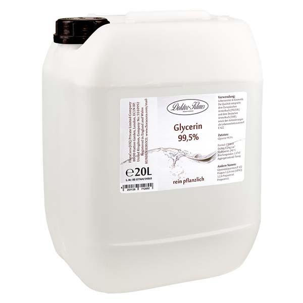 Glycérine 99,5% Doktor Klaus dans un jerrican PEHD de 20 litres - E422