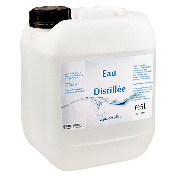 5 Liter Destilliertes Wasser Aqua Destillata Im Premium Kanister