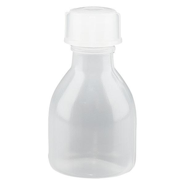 Flacon 20 ml à col étroit, avec bouchon