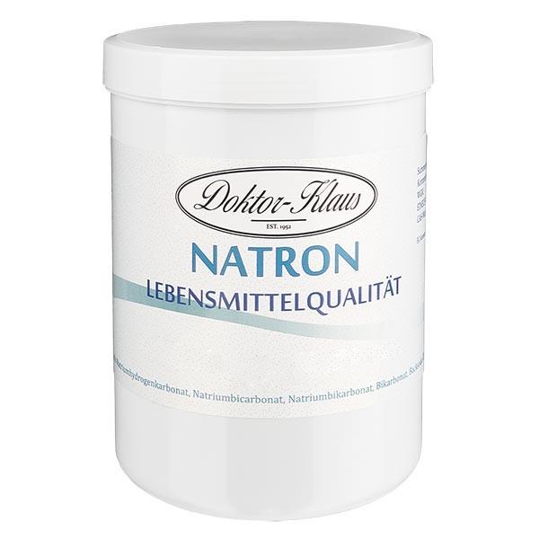 Bicarbonate de soude, en boîte blanche de 1000 g, apte à l'utilisation alimentaire