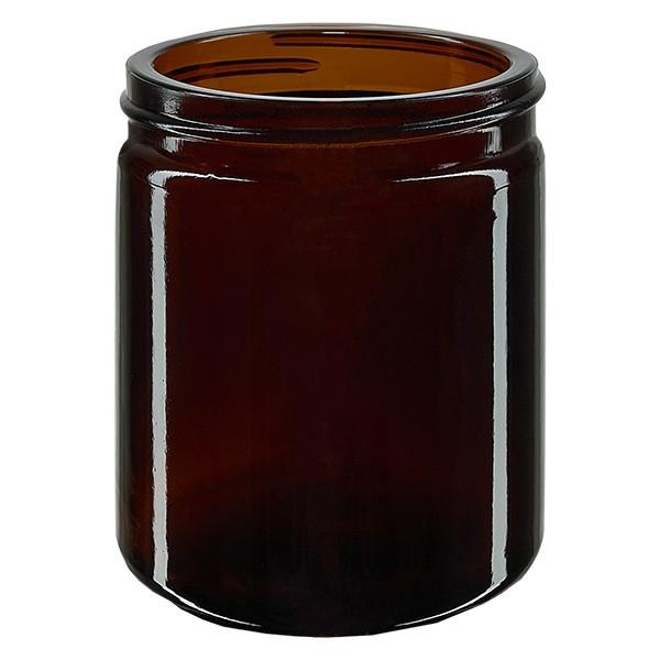 Pot en VERRE AMBRÉ 180 ml