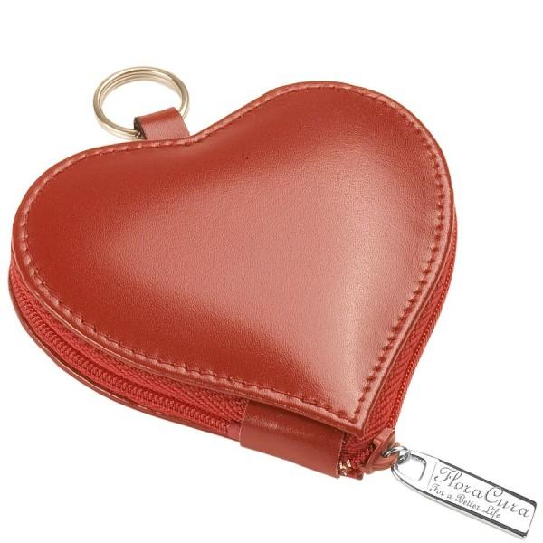 """FloraCura Mini Pocket """"Heart"""" pour 3 tubes ø11mm"""