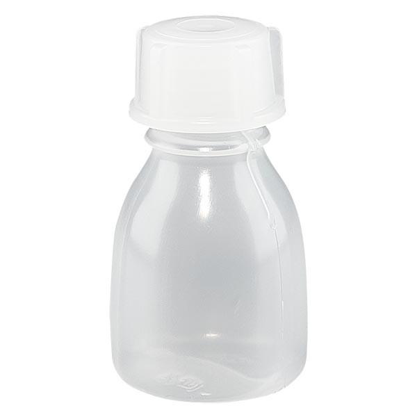 Flacon 10 ml à col étroit, avec bouchon